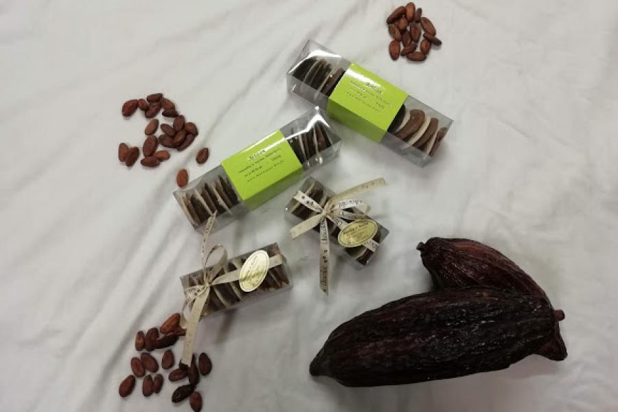 Tuiles chocolat bio